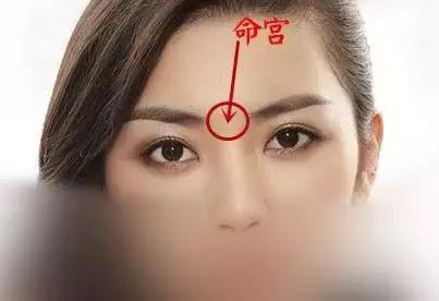 兩眉之間是「命宮」,看命宮相即可看出你的「性格」和「一生成敗」