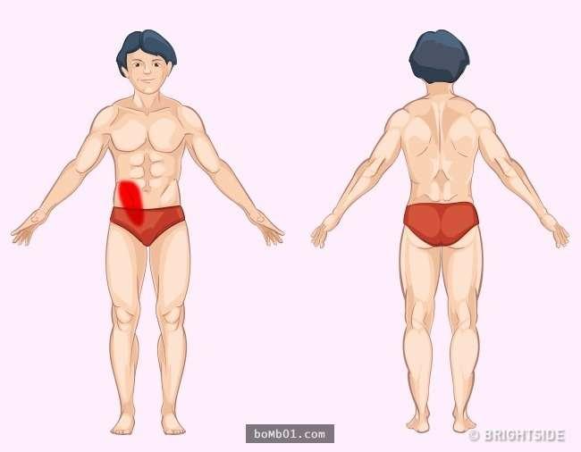 9張圖解「讓你秒懂身體部位會疼痛的原因」,現在就找出問題瞭解原因出在哪裡!