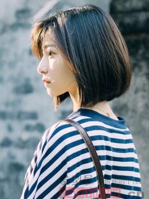 偏胖臉女生髮型設計 清爽短髮完美修顏
