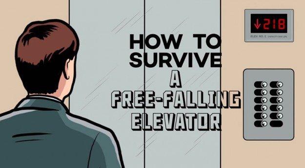 電梯下墜時99%的人都會做出錯誤的「這個動作」,快看這裡!這幾個保命方法千萬要學下來!