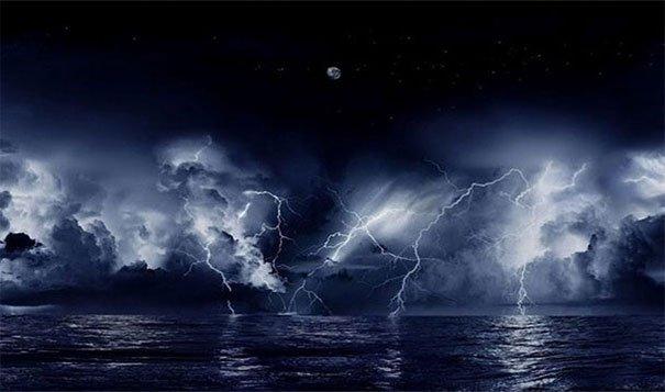 9. 永恆的風暴:它是卡塔通博閃電(Catatumbo lightning)這個風暴會在委內瑞拉(Venezuela)馬拉開波湖(Lake Maracaibo)持續超過160天不停。<BR><BR>