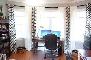 或是用PVC水管也能打造獨一無二的窗簾管道。<BR><BR>
